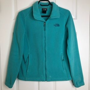 The North Face Fleece Jacket Teal Size Small